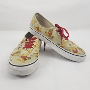 VANS Disney Winnie The Pooh Shoes Women's Size 7.5